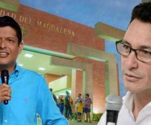 Pablo Vera y Carlos Caicedo.