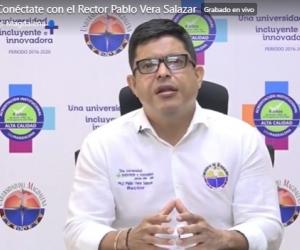 Pablo Vera, rector de la Universidad del Magdalena.