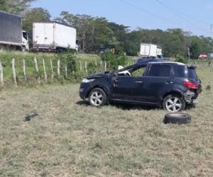 El accidente ocurrió en el kilómetro 6 + 750 metros de la vía La Cordialidad