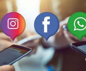 Reportan caída de las tres redes sociales más usadas