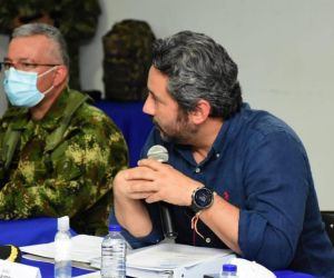 Viceministro de Defensa, Jairo García.