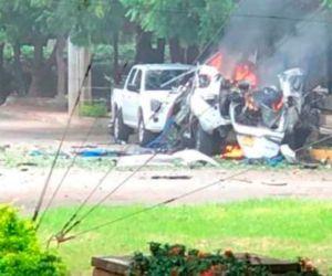 El 15 de junio pasado, cuando fue activado un carro bomba al interior de esa instalación militar.