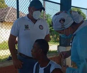 Al conocer el caso, comenzaron con el rastreo por parte del equipo Prass Municipal.