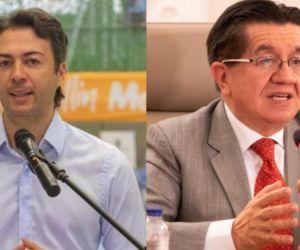 Daniel Quintero y Fernando Ruiz.