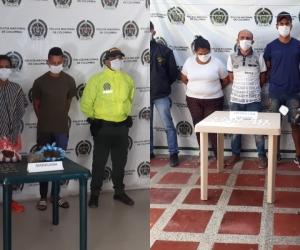 Los allanamientos se realizaron en cinco municipios del Magdalena.
