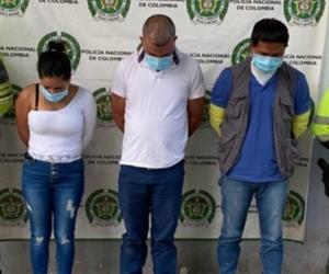 Los tres fueron enviados a la cárcel.