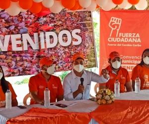 El candidato del movimiento Fuerza Ciudadana tuvo que demandar al gobernador para ganar tiempo e inscribir su candidatura.