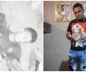A la izquierda, la escena dantesca de las víctimas en Orihueca.