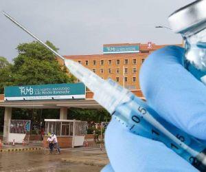 Todas las dosis del coronavirus asignadas a los municipios irán para el Hospital Julio Méndez Barreneche.