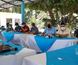 Encuentro de los alcaldes del Magdalena en el municipio de El Retén.