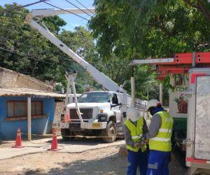 Trabajos en Taganga - imagen de referencia.