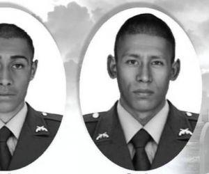 Policías asesinados en Chocó.