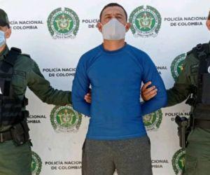 Alexander Ramírez Ariza, alias 'Bemba'.