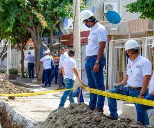 Intervención en el barrio Galicia