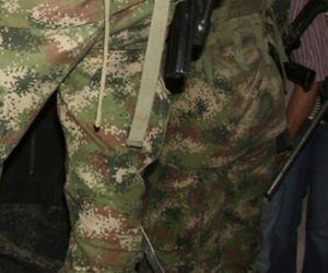Militares en Magdalena