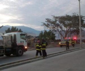 Cuerpo de Bomberos de Santa Marta.