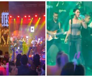Imágenes del concierto en Barranquilla.