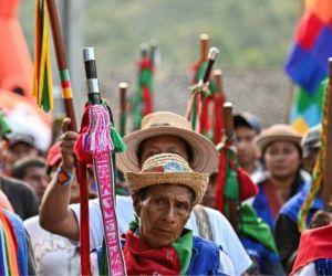 Indígenas del Cauca.