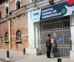 La menor víctima fue atendida en el Hospital General de Barranquilla.