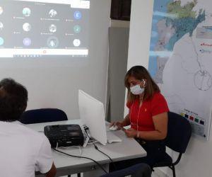 En mesa técnica, la Secretaría de Seguridad del Distrito coordinó visita a la reserva El Dorado.
