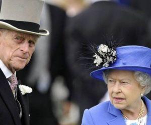 Felipe de Edinburgo e Isabel II.
