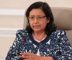 Gina Tambini, experta de la OMS y OPS.