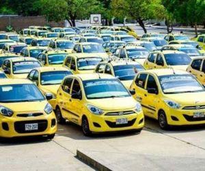Taxis en Santa Marta.