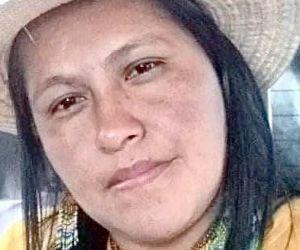 Sandra Liliana Peña, gobernadora indígena.