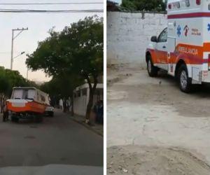 Así estarían las ambulancias entregadas.