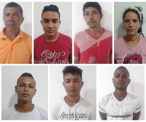 Estos fueron los once capturados en el Magdalena.