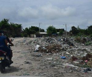 Trocha en Malambo donde fue hallado el cadáver.