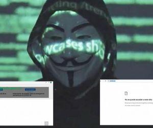 Anonymus se adjudicó más ataques cibernéticos.
