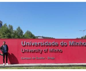 El estudiante fue seleccionado en la convocatoria de doble titulación internacional coordinada por la Oficina de Relaciones Internacionales.
