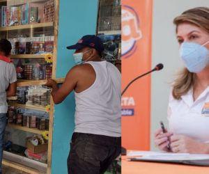 Alcaldesa Virna Johnson pide extender toque de queda en Santa Marta