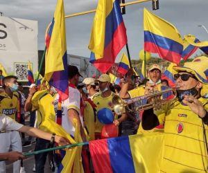 Marchas en Santa Marta