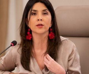 Ministra María Victoria Angulo.