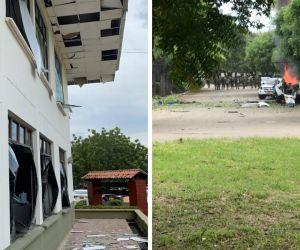 Carro bomba en Cúcuta.