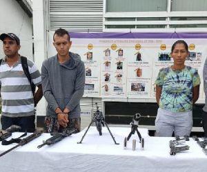 Judicializados presuntos responsables 'plan pistola' en Urabá.