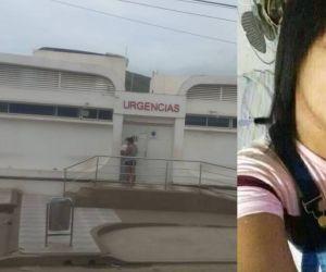 Ivana Padilla llegó sin vida al centro de salud de Bastidas.