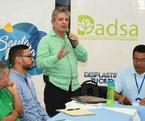 Posesionado Jorge Saltaren como nuevo director del Dadsa