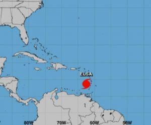 huracán elsa