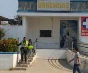 El joven venezolano fue llevado en primera instancia al puerto de salud Paz del Río y luego trasladado al hospital San Rafael.