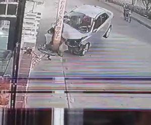 choque de un carro