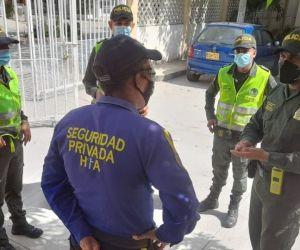 la institución busca garantizar la convivencia y seguridad ciudadana del sector