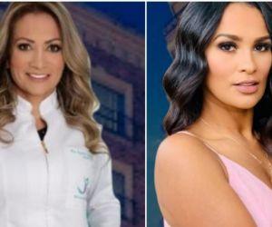 Victoria Andrea Escalante y Yeimy Paola Vargas, jurado calificador de Miss Universe Colombia 2021