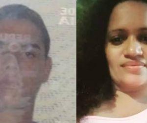 Hombre asesinado y mujer herida.