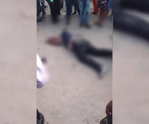 Otro homicidio en Santa Marta.