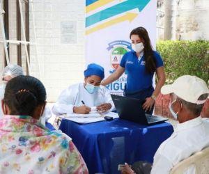 Vacunación en Ariguaní.