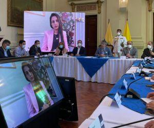 Esta reunión permitirá un trabajo bilateral, con el que se espera que las acciones a nivel regional se continúen fortaleciendo.