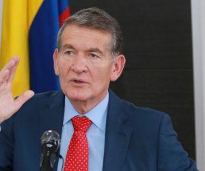 Ministro de Trabajo, Miguel Ángel Cabrera.